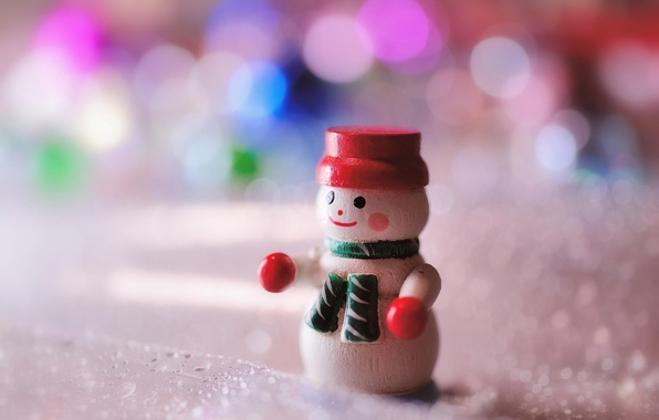 Picture macro, toy, new year, snowman
