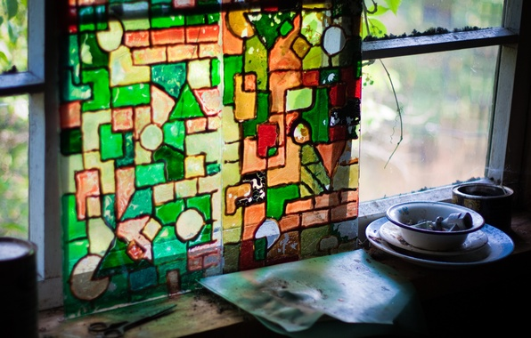 Picture color, mosaic, stuff