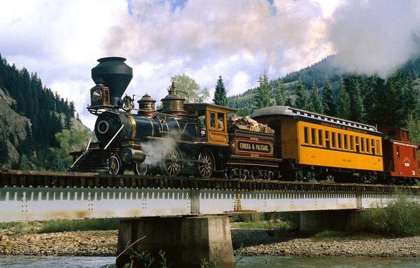 Picture River, The engine, Colorado