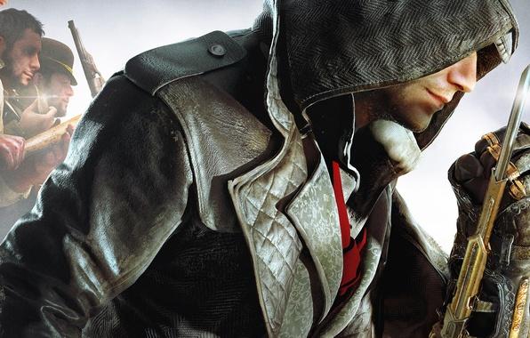 Picture hood, gang, Ubisoft, blade, killer, assassins, Assassin's Creed: Syndicate, Jacob Fry, Jacob Frye