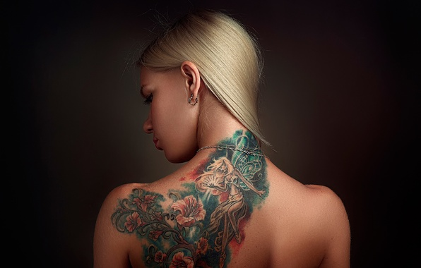 Picture back, tattoo, Russia, Anya, Anna, Stepan Gladkov