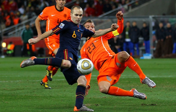 Picture football, blow, world Cup 2010, Spain, the world Cup, world cup 2010, world cup, Andrés …