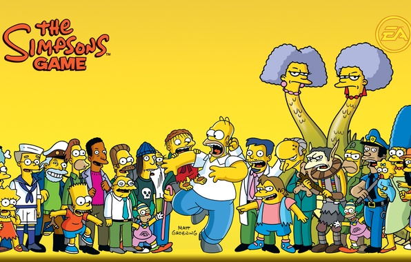 wallpapers the simpsons homer