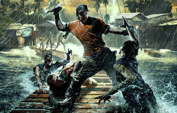 Wallpaper Forest Weapons Zombies Kirk The Fun Pimps 7