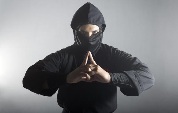 Picture ninja, pose, uniform