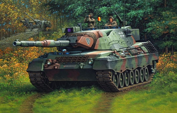 Picture figure, tank, Germany, Enzo Maio, the Bundeswehr, leopard 1