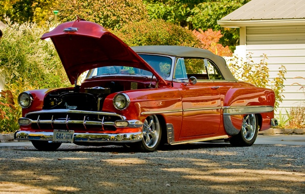 Picture chevrolet, Bel Air, 1954