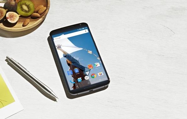 Picture Android, 5.0, Motorola, 2014, Lollipop, Smartphone, Pen, by Google, Nexus 6