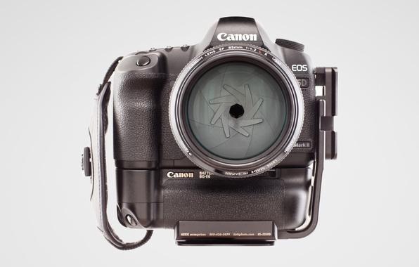 Picture Wallpaper, the camera, white background, Canon 5D mark II, the EF 85mm f/1, 2 L …