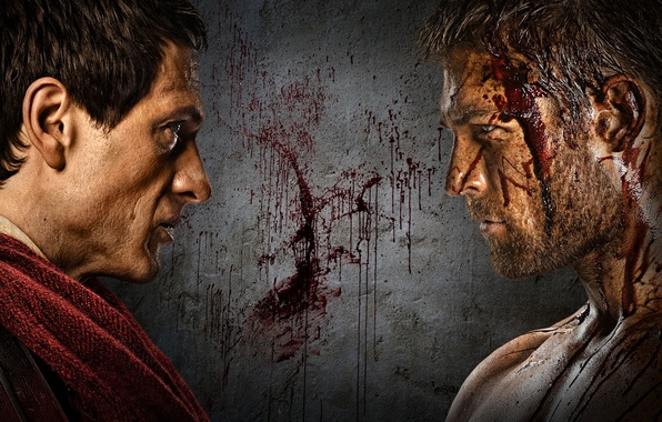 Picture the film, war, blood, history, Spartacus, Spartacus, sereal, Spartacus-war of the damned, KRASS