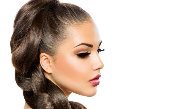 Picture face, hair, profile, braid