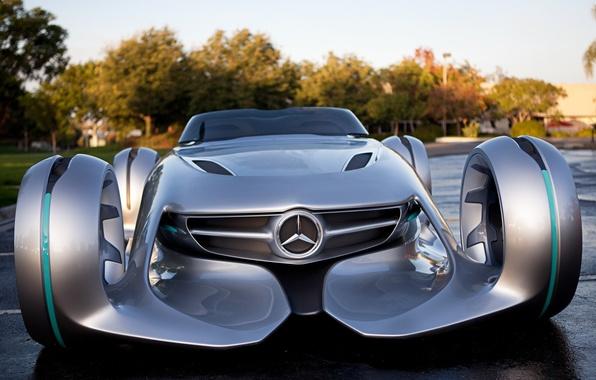 Picture the concept, Mercedes, car, Silver Arrow