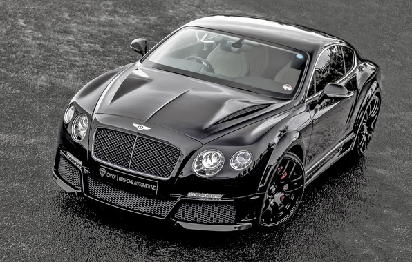 Picture Bentley, Continental, Front, Black, Tuning, ONYX