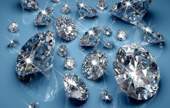 Picture diamonds, glow, brilliant, sparkle, glitter, diamonds, jem