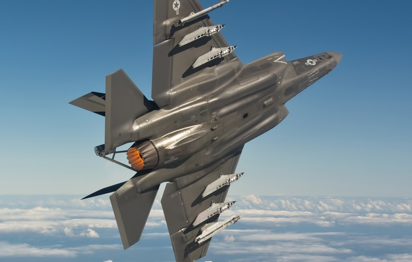 Picture F-35, the fast and the furious, F-35C, F35, afterburner, NAS Patuxent River Housing Service Center