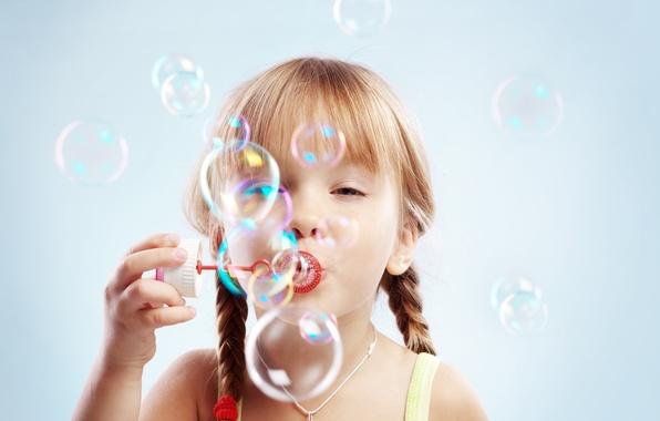 Picture joy, happiness, children, childhood, bubbles, child, bubbles, child, childhood, children, happiness, joy, cute little girl, …