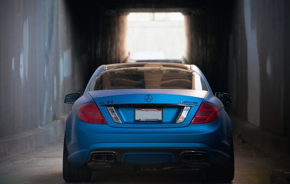 Picture Mercedes-Benz, Auto, Tuning, Machine, The tunnel, Wall