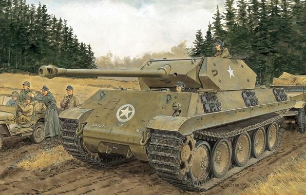 Picture Figure, Operation, Sd.Car. 171, PzKpfw V, German, Plan, Panzerkampfwagen V, Medium-heavy tank, Panther M10, Watch …