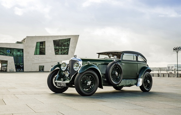 Picture coupe, Bentley, Coupe, Bentley, 1930, Speed 6
