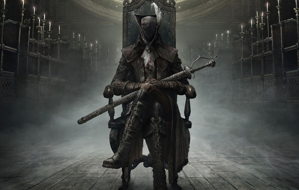 Picture Weapons, Cloak, Hunter, From Software, Bloodborne, Bloodborne: The Old Hunters, The Old Hunters