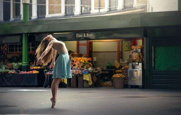 Picture the city, dance, ballerina, Marine Fauvet