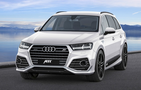 Picture Design, White, Quattro, Tuning, ABBOT, Audi Q7