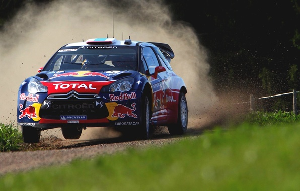 Picture Auto, Sport, Machine, Speed, Race, Citroen, Skid, Citroen, DS3, WRC, Rally, Rally, The front, D. …