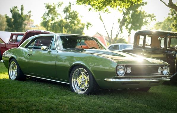Picture retro, Chevrolet, Camaro, 1967