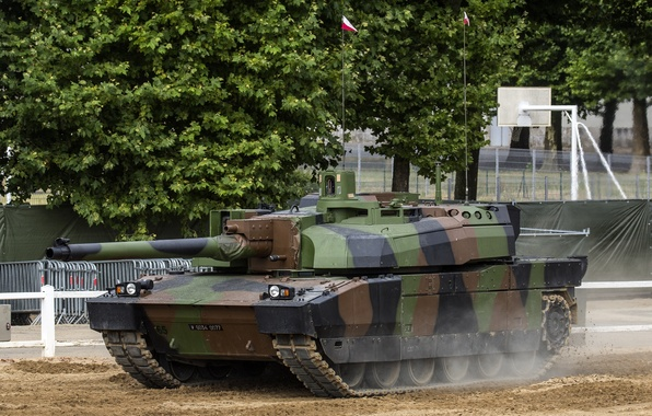 Picture modern, tank, combat, French, main, Leclerc