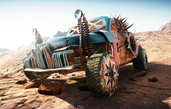 Picture machine, desert, Mad Max, Fury Road, Mad Max, Road rage