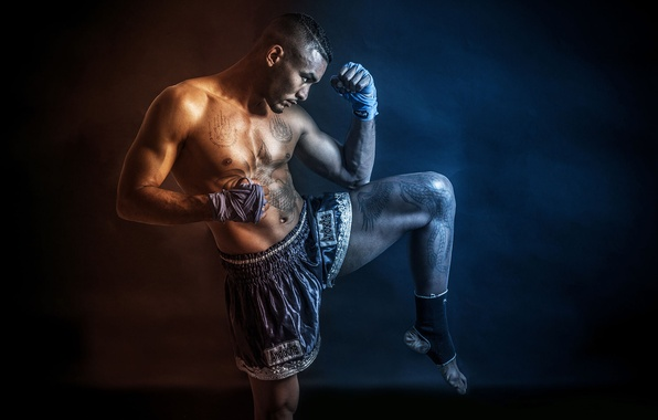 Picture Samuel Andoche, photographer, fighter, World Champion, Olivier Ahpoor, Muay-thai, Muay Thai