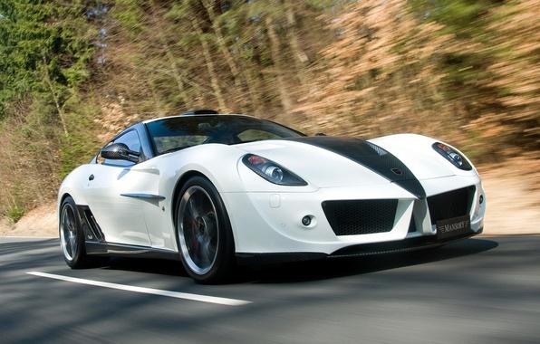 Picture car, Ferrari, GTB, 599, speed, Mansory, Fiorano Stallone