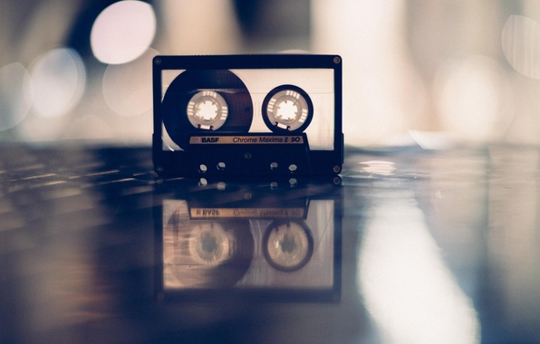 Picture music, background, cassette, BASF