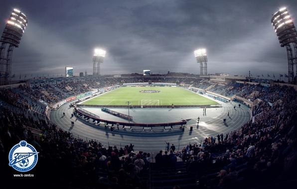 Picture football, Peter, Zenit, Saint Petersburg, tribune, stadium, Petrovsky
