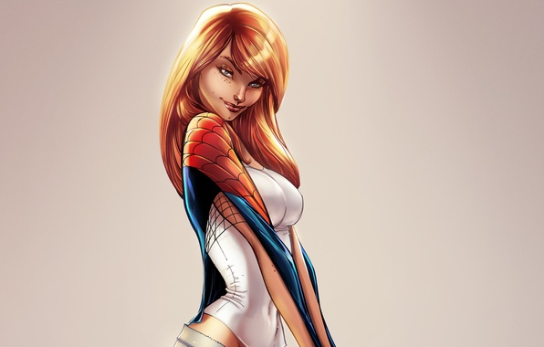 Picture girl, Marvel Comics, Spider-Man, Mary Jane Watson, Mary Jane