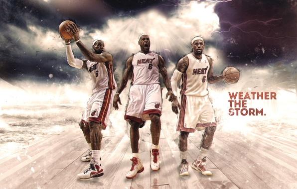 Photo Wallpaper Miami Sport Basketball Nike NBA LeBron James