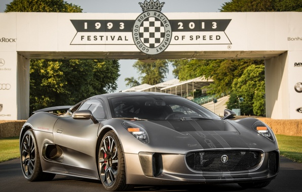 Picture Jaguar, Hybrid, Supercar, 2014, C-X75