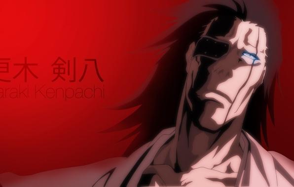 Photo Wallpaper Game Bleach Devil Long Hair Eyes Anime Face