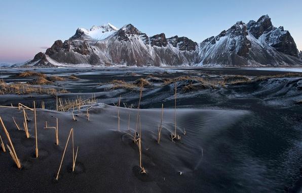 Picture landscape, nature, iceland