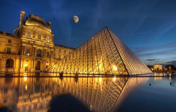 Picture Paris, France, Louvre, Ile-de-France
