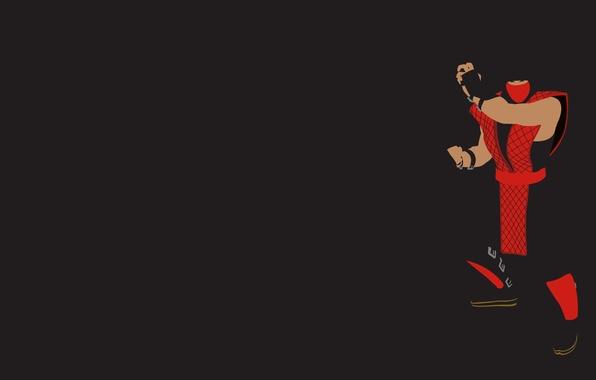Photo Wallpaper Red Mortal Kombat Classic Ninja Ermac
