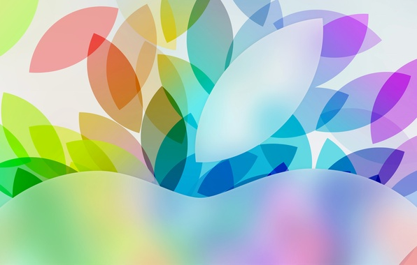 Picture leaves, pattern, color, apple, Apple, hi-tech