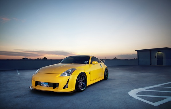 Picture City, Nissan, Nissan 350z, 350z, cars, auto, Tuning, Photo, wallpapers auto, Parking, tuning auto