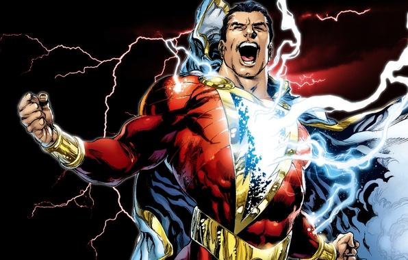 Wallpaper Comics Captain Marvel Shazam Images For Desktop Section