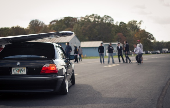 Picture photo, people, bmw, Boomer, seven, e38, bumer