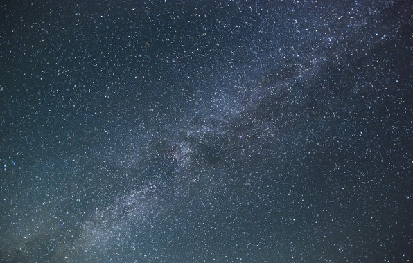 Picture space, stars, mystery, The Milky Way, infinity