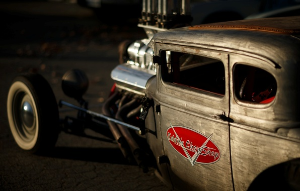 Picture Ford, Hot Rod, Coupe, Rat Rod, Model A