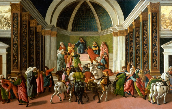Picture picture, mythology, Sandro Botticelli, History Of Virginia