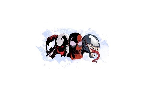 Picture marvel, venom, carnage, venom, symbiote, toxin, carnage, the symbiote, toxin