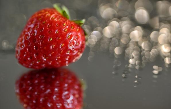 Picture macro, strawberries, strawberry, berry